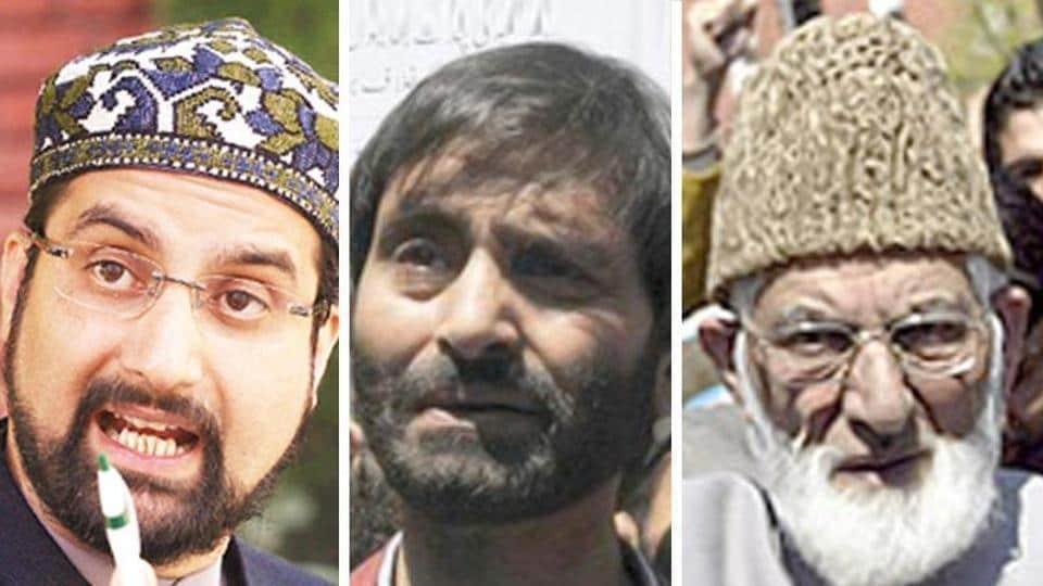 Mirwaiz Umar Farooq and Yasin Malik were to meet at Syed Ali Shah Geelani's home to discuss NIA raids against Hurriyat leaders.