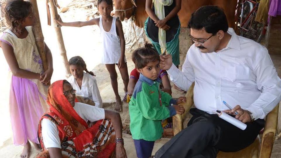Secretary, district legal authority, Abhishek Upadhyay came as a messenger of goodwill for Preeti.