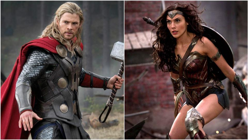 Do you want to see Thor and Wonder Woman fight it out?
