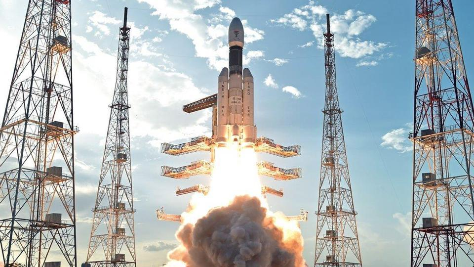 ISRO's heaviest rocket GSLV Mk-III carrying communication satellite GSAT-19 takes off from Satish Dhawan Space Centre in Sriharikota on June 5.