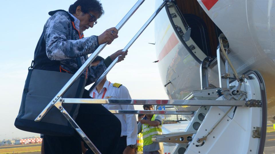 Amitabh Bachchan reached Malta for the shhoot of his next with Aamir Khan and Katrina Kaif, Thugs of Hindostan.