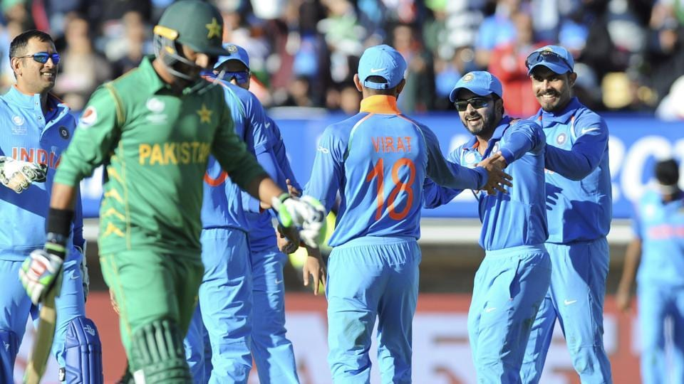India eased to an easy 124-run win via D/L method in their ICC Champions Trophy 2017 opener against Pakistan at Edgbaston.