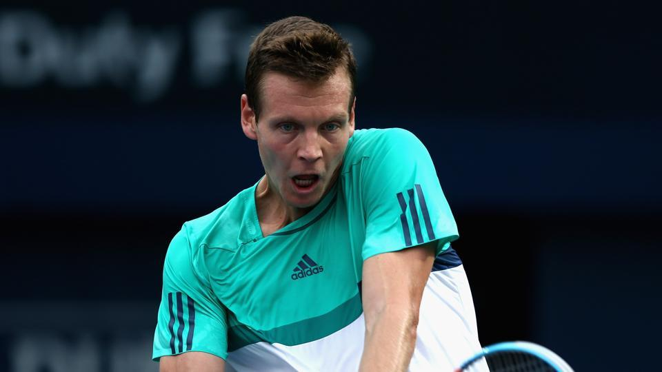 Tomas Berdych has parted ways with Goran Ivanisevic after losing in the second round of the French Open to Russian youngster Karen Khachanov