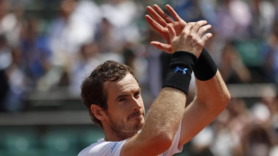 Andy Murray has paid tribute to the victims of the Manchester and London attacks following his win in the 2017 French Open which helped him reach the quarter-finals.