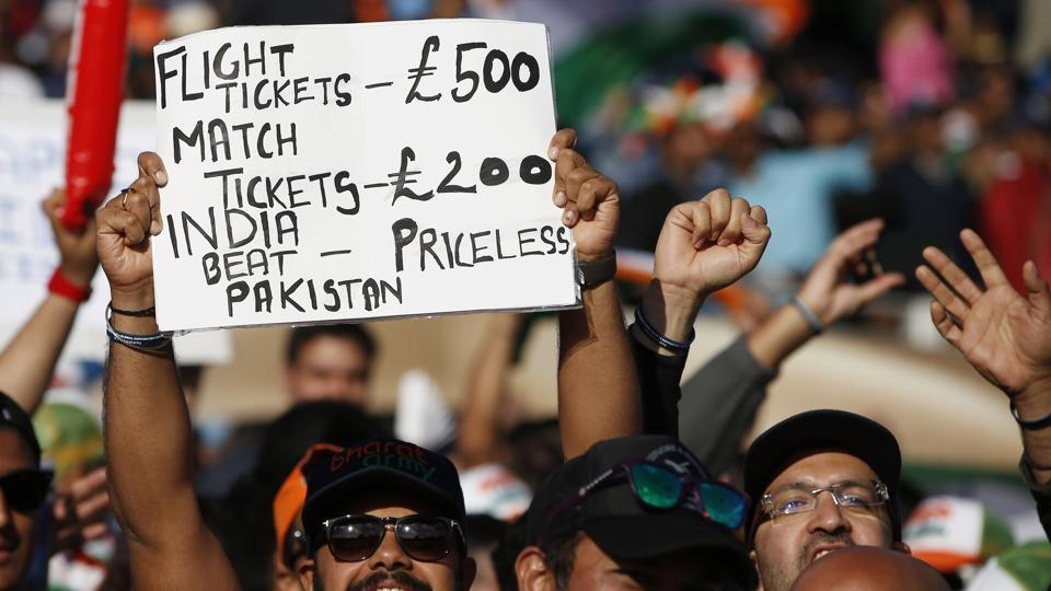 The placard game was also on point as spectators came up with witty captions. (REUTERS)