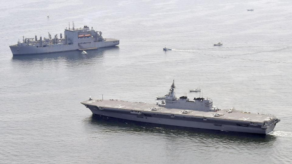 The four North Koreans were found on two vessels on Friday and Saturday by the South Korean navy.