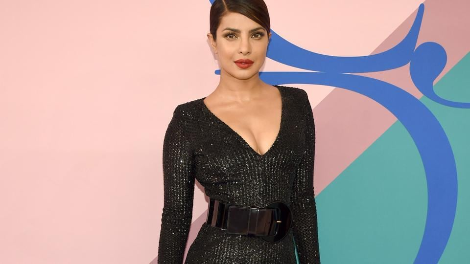 Priyanka Chopra attends the 2017 CFDA Fashion Awards at Hammerstein Ballroom on June 5, 2017 in New York City.
