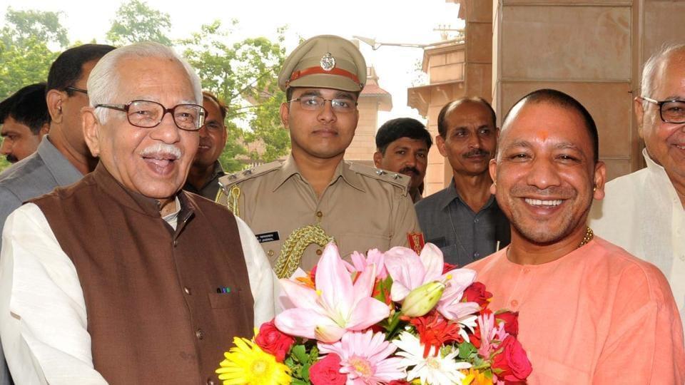 Governor Ram Naik extended birthday greetings to UP chief minister Yogi Adityanath.