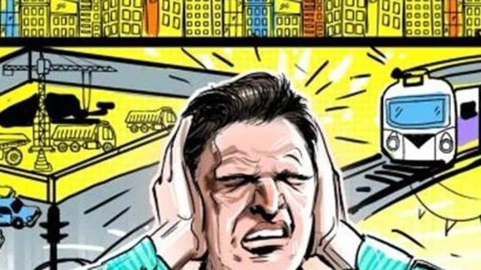 Noise pollution,Lucknow,Uttar Pradesh