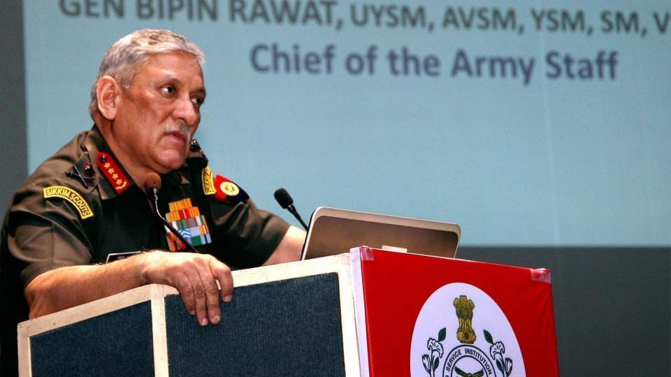 It said army chief Bipin Rawat  had let down the high professional standards of the army.
