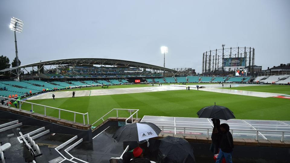 Australia and Bangladesh split points as persistent rain played spoilsport in the fifth match of the ICC Champions Trophy 2017 at The Oval. Catch full cricket score of Australia vs Bangladesh here