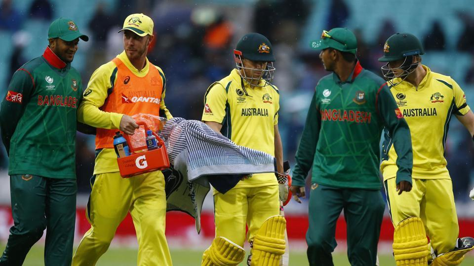 Rain denied Australia a chance to notch their first win at ICC Champions Trophy 2017. Watch match video highlights of Australia vs Bangladesh here.