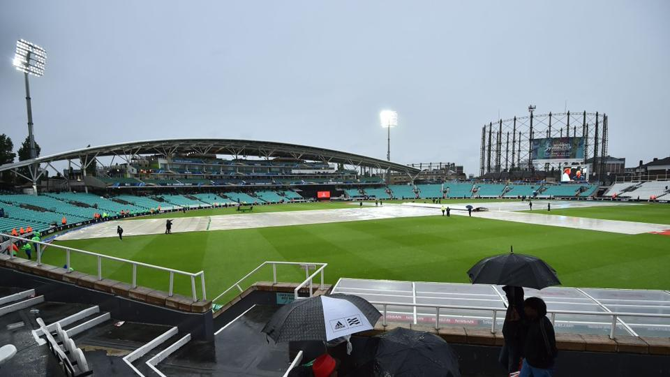 Australia were forced to split points for the second time in the 2017 ICC Champions Trophy as their game against Bangladesh at The Oval was abandoned due to persistent rain. (Twitter )