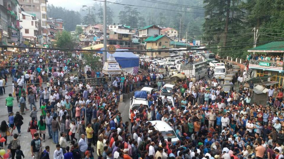 Manali sees huge rush in June.