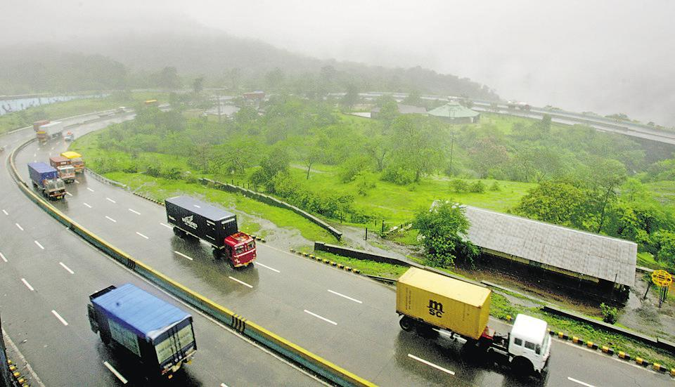 A man died after he was hit by car on the Mumbai-Pune Expressway near Panvel on Monday