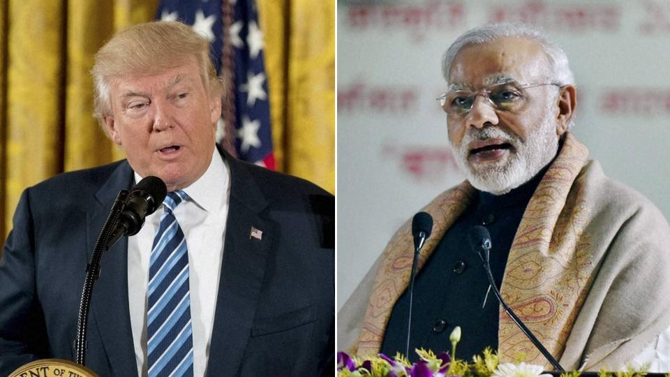 US President Donald Trump with  Prime Minister Narendra Modi.  Nothing is more effective in getting America invested in India's future than by getting Americans invested in India's economy