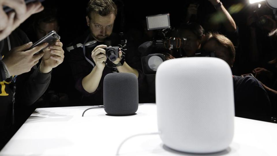 The HomePod speaker was unveiled at the Apple Worldwide Developers Conference on June 5, 2017, in San Jose, California.