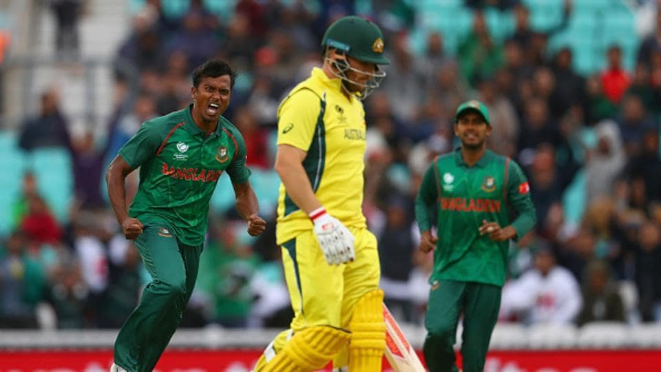 In reply, Australia openers David Warner and Aaron Finch added 45 runs before seamer Rubel Hossain got rid of the latter.  (Getty Images)