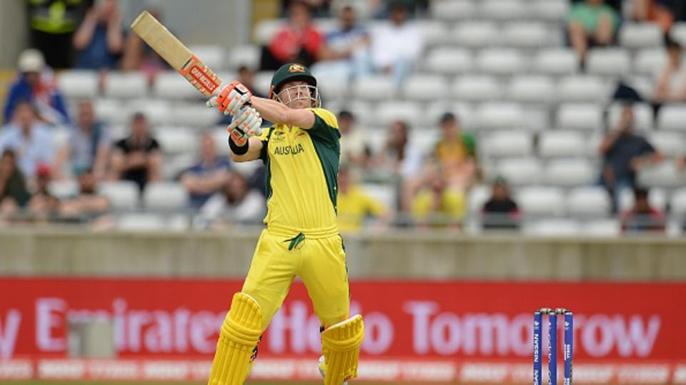 David Warner continued to pile on the runs and kept Australia on track in chase.  (Getty Images)