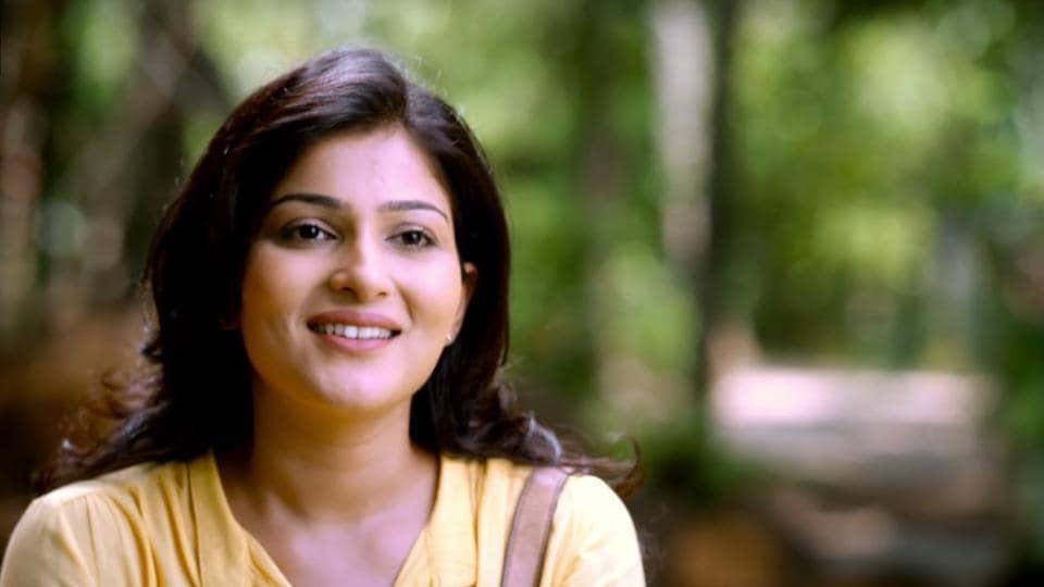 Avantika Shetty in a still from the hit Kannada film RangiTaranga.
