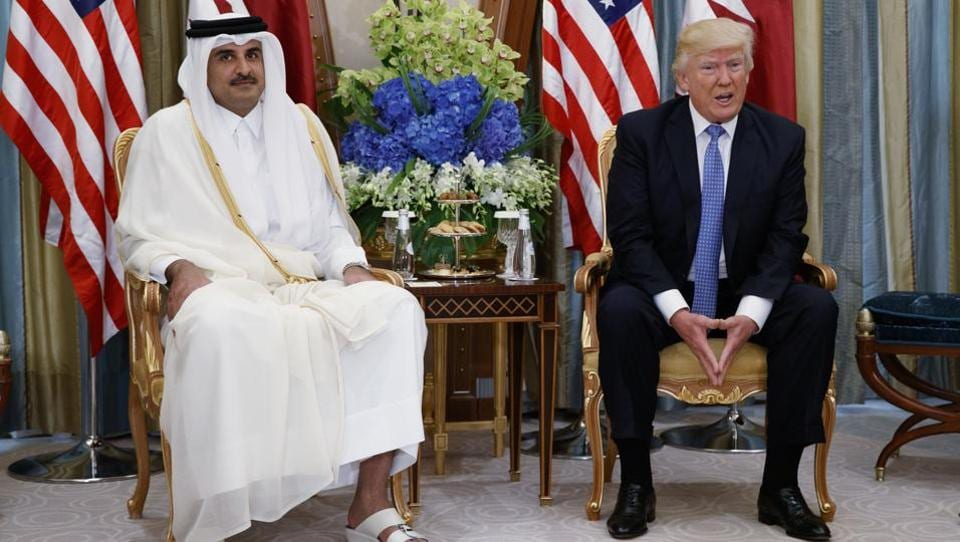 Trump on Qatar,Qatar US relations,Qatar diplomatic row