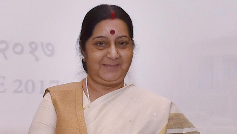External affairs minister Sushma Swaraj  said India was trying to find out if any of its nationals is adversely impacted due to the  development in the Gulf on June 5.
