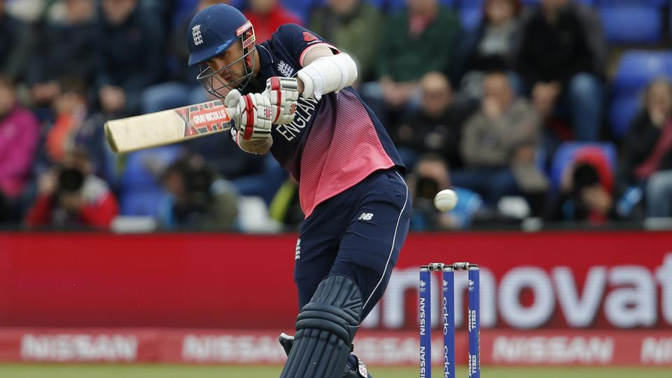 England's Alex Hales in action against New Zealand. (REUTERS)
