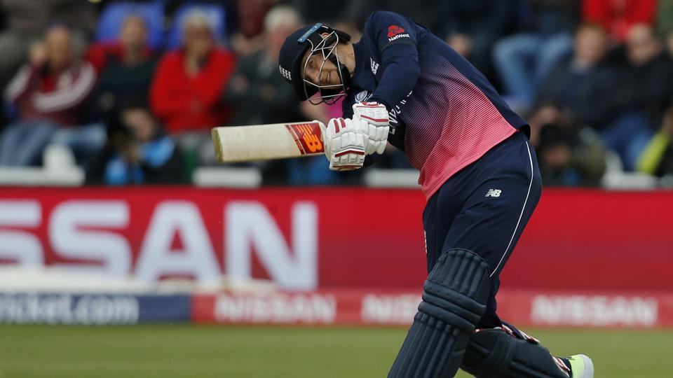 Joe Root scored 64 for England against New Zealand in a crucial ICC Champions Trophy 2017 group A match in Cardiff today. Get full cricket score of ENG vs NZ here.