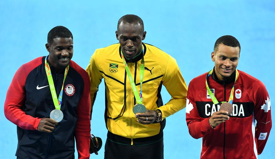 Jamaican sprinter Usain Bolt will take part in the 100m event at the Golden Spike (AFP PHOTO / Jewel SAMAD)
