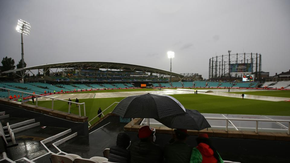 The ICC Champions Trophy Group A encounter between Australia and Bangladesh at The Oval on Monday was abandoned due to rain. Get full cricket score of Australia vs Bangladesh here.