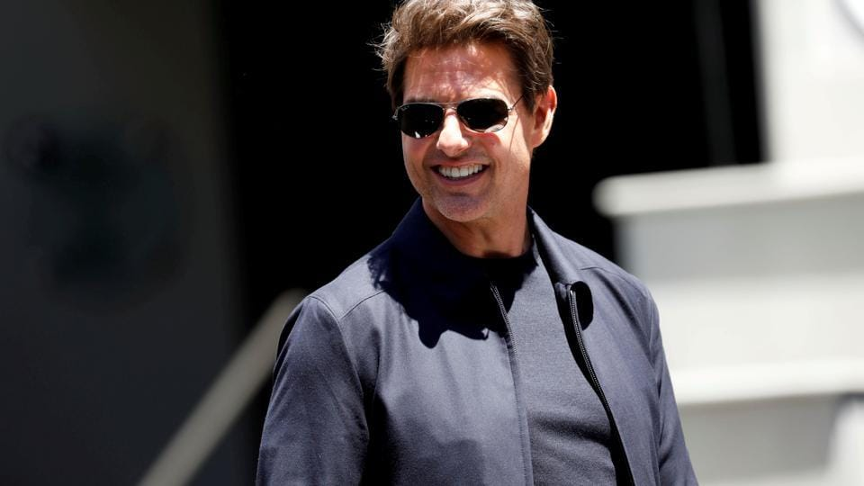Tom Cruise attends an event to promote The Mummy at the Hollywood and Highland gateway in Hollywood, California, May 20, 2017.