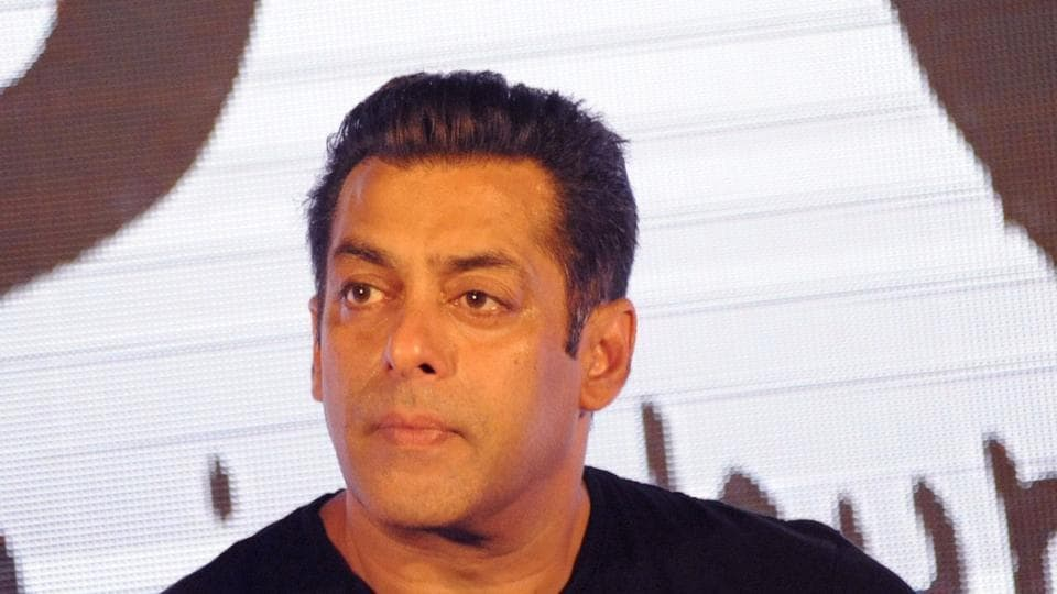 Salman Khan takes part in a promotional event in Mumbai on June 5.