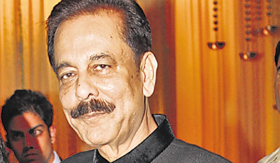 (For representational purpose). Sahara India group chair Subrata Roy.  A  group company has been ordered to refund a Maharashtra resident the amount she paid for a  bungalow in the 'Sahara City Homes' project  after the firm failed to give possession within the stipulated time.