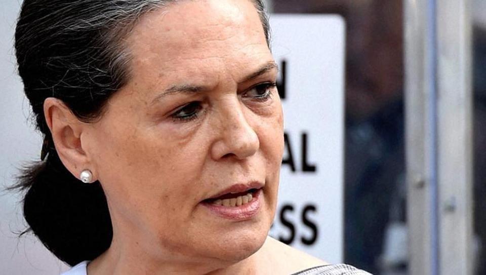 File photo of Congress president Sonia Gandhi.