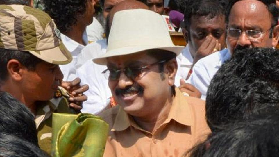 AIADMK (Amma) deputy general secretary TTV Dhinakaran was the faction's candidate for the election.