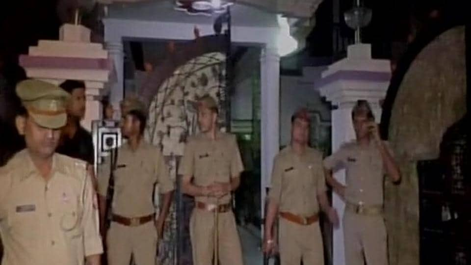 Three family members shot dead in UP