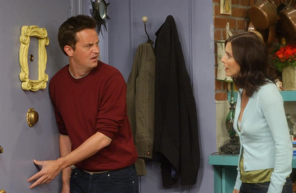 Actor Matthew Perry played Chandler in the hit TV show.