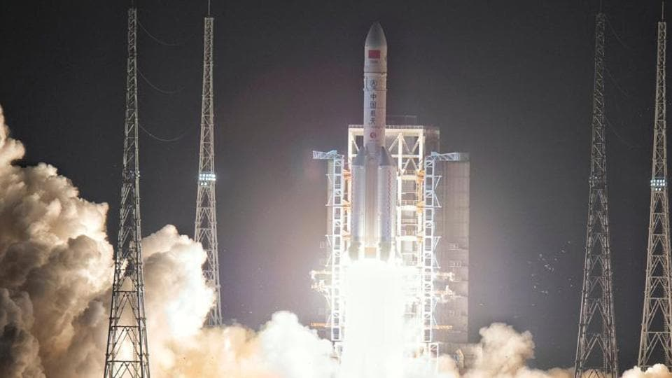 China in 2003 became the third country to put a man in space with its own rocket after the former Soviet Union and the United States.