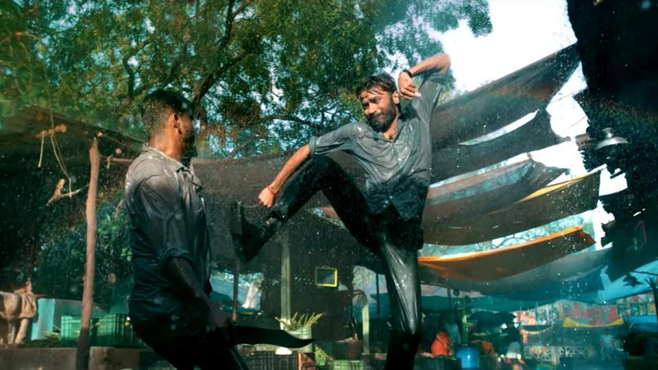 Dhanush is back with the comedy action fil