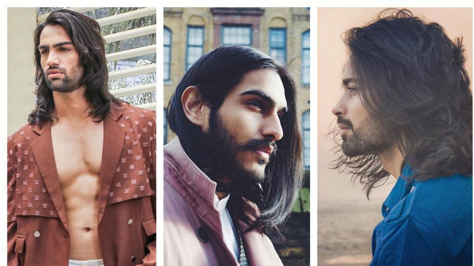 Hair S Their Story Runway Boost For Indian Male Models With Long Locks Fashion And Trends Hindustan Times