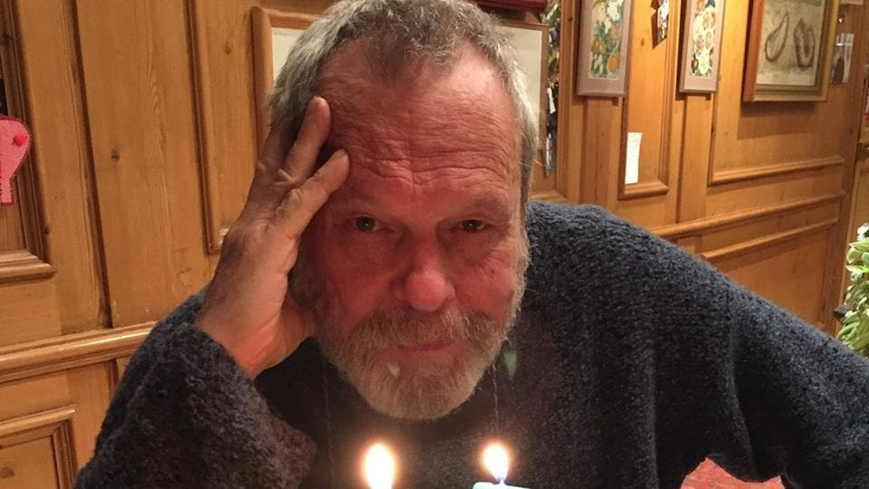 Terry Gilliam has finished the principal photography for the film. (Facebook)