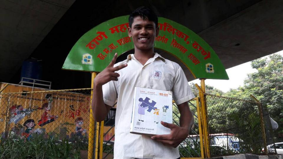 Mohan Kale is one of the school's 28 students.