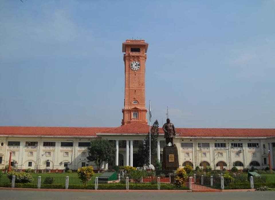 The Patna main secretariat building, headquarters of Bihar's bureaucracy.