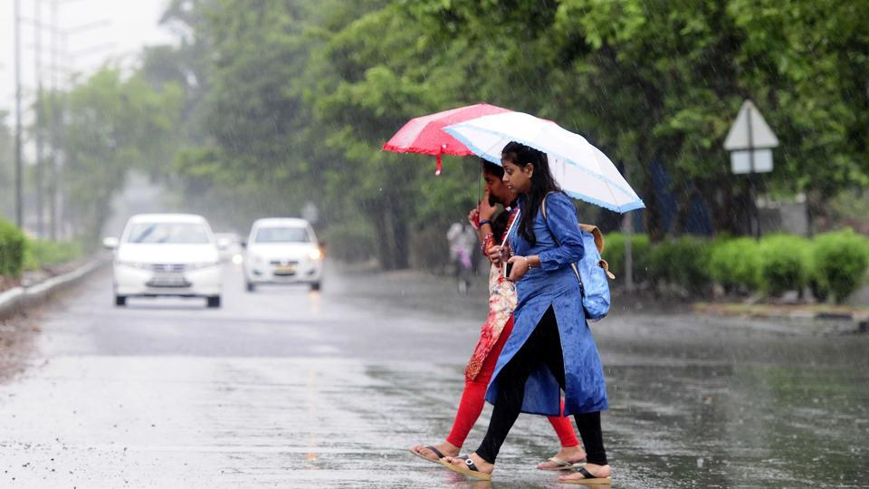 Rain has been predicted till Saturday after which the heat wave is expected to return.