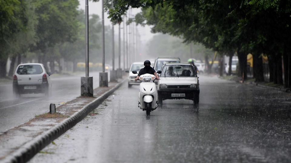 More rain is expected on Thursday as a weather disturbance cycle has reached the city. (Keshav Singh)