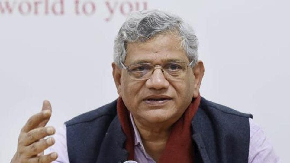 Congress,Left,Sitaram Yechury