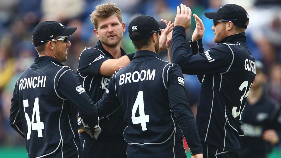 ICC Champions Trophy,Champions Trophy 2017,New Zealand cricket team