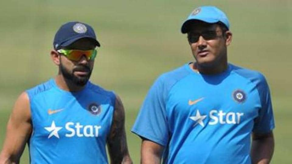 Anil Kumble's one-year contract as India cricket team's head coach is due to end after the ICC Champions Trophy.
