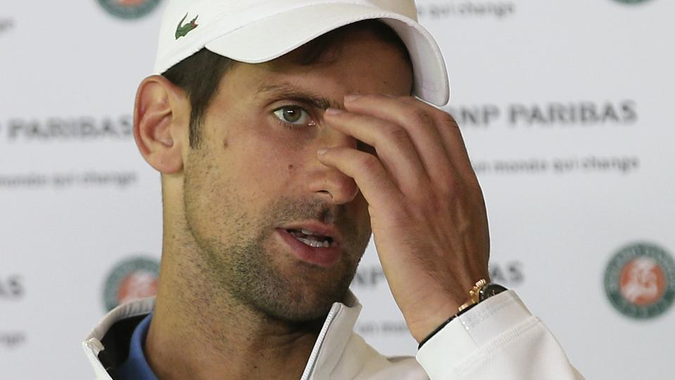 Novak Djokovic doesn't believe he's in a freefall, but he is pondering a break from the game after his loss to Dominic Thiem.