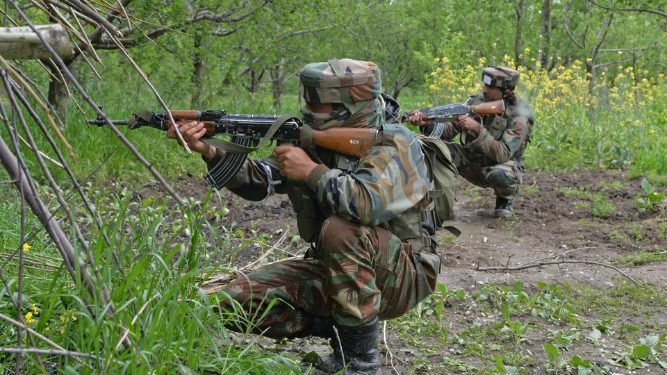 Militants were killed as the army foiled an infiltration bid in Kashmir.